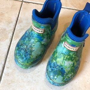 Hunter Boots x Target kids rain shoes size 7